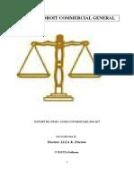 COURS DE DROIT COMMERCIAL GENERAL  (E-LEARNING)(1)