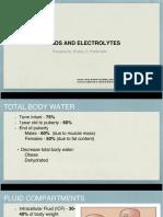 fluids and electrolytes pediatrics