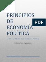 Segal, L. (1940). Principios de Economía Política (Instituto Marx-Engels-Lenin)