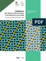MATRIZ DE REFERÊNCIA DE LÍNGUA PORTUGUESA E MATEMÁTICA DO SAEB.pdf