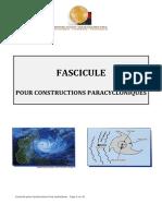 Madagascar Fascicule pour constructions paracycloniques