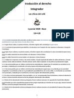 INTRO AL DERECHO INTEGRADOR 2020
