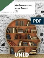 Manual de diseño instruccional; una propuesta con tareas integradoras (TI)