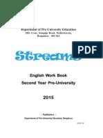 II PUC English Work Book