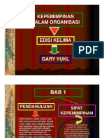 Bab 1 [Kepemimpinan Dan Organisasi