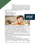 Anemia infantil en niños y bebés