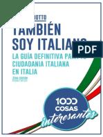 Libro Tambien Soy Italiano 3era Edicion