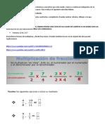 Fracciones multiplicación y división