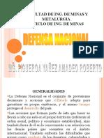 DEFENSA NACIONAL TEMA 5 Y 6