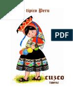 trajes tipicos de la sierra del peru