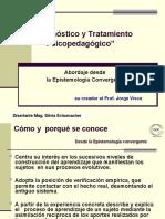 Diagnóstico y Tratamiento Psicopedagógico