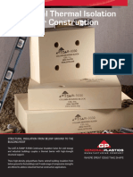 Thermal Block Construction Brochure