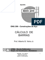 Cálculo de Barras