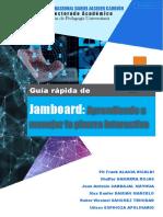 018 GUÍA RÁPIDA - JAMBOARD. La pizarra interactiva v1.0