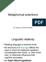 7. Metaphorical extensions (1)