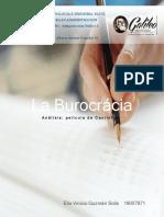 Analisi de la pelicula La Burocrácia