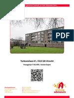 Brochure Turkooislaan 61 Te Utrecht