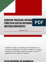MATERIAL 3 (ACTAS NOTARIALES EN MATERIA MERCANTIL)