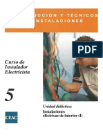 05. Instalaciones Eléctricas de Interior (I)
