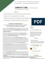 Sociedad de Profesionales - Glosal Consultores Ltda. %Servicios de Contabilidad para Pymes