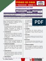 SEMANA 12 - LAS ECORREGIONES DEL PERÚ [2do CIENCIA Y TECNOLOGÍA]