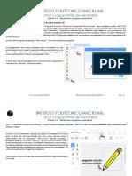 Tutorial Figuras Geometricas Prof Carlos Montiel R IPN