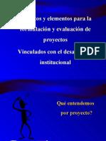 Conceptos Formulacion Proyectos INS-ICAP 2018