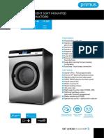 Primus FX-180-240-280 Specifications