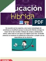 Presentación educación HIBRIDA
