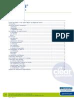 Paramelt Aquaseal user guide 2010_11 FR