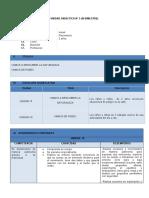 UNIDAD DIDÁCTICA 3 - 2 AÑOS - PSICOMOTRIZ - III BIMESTRE 2018