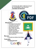 Proyecto - Classroom2020