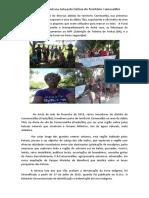 Mulheres Pataxós na Luta pela Defesa do Território Comexatibá