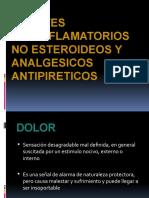 AGENTES ANTIINFLAMATORIOS NO ESTEROIDEOS Y ANALGESICOS ANTIPIRETICOS.pptx