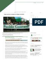 Surge o primeiro autogoverno indígena da Bolívia - De Olho nos Ruralistas