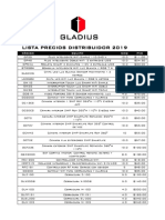 Lista Precios Distribuidor