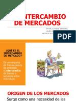 EL INTERCAMBIO DE MERCADOS