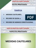 CLASE 07 - Aspectos Procesales - Derecho Procesal Constitucional - 2020-1.pdf