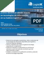 Cómo identificar dónde invertir en tecnologías de información en su Cadena Logística_