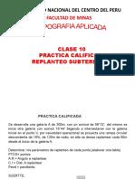 CLASE 10  PRACTICA CALIFICADA ENUNCIADO