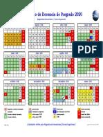 2020 01 09 Calendario Docencia Asignaturas Pregrado Semestrales Cursos Superiores 2020.pdf