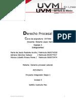 ACTIVIDAD 6_ MRA_Equipo 1_Etapa 2 Proyecto Integrador_ Derecho Procesal Laboral