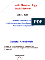 NAVLE Anesthetic Pharmacology Review 2018.pdf