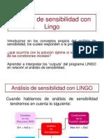 04 Análisis de sensibilidad con Lingo