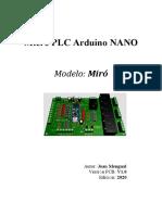 Micro PLC Arduino NANO mod miro