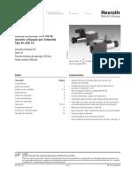 valvula direciona 3-2 4-2 operada por solenoide