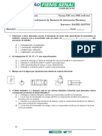 Avaliação hidráulica básica PRESENCIAL 3