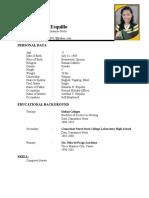 Kristal resume