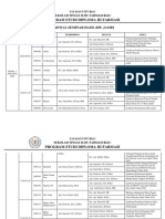 JADWAL SEMINAR HASIL PRODI D3 - RPL JAMBI 2020