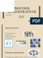 exposicion procesos administrativos